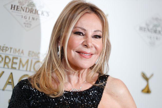 Ana Garcia Obregon en los premios Yago en marzo de