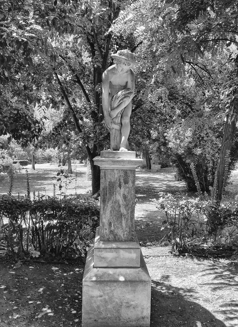 Δημήτριου Ζ. Φιλιππότη,Θεριστής, 1870, μάρμαρο, Ζάππειο.