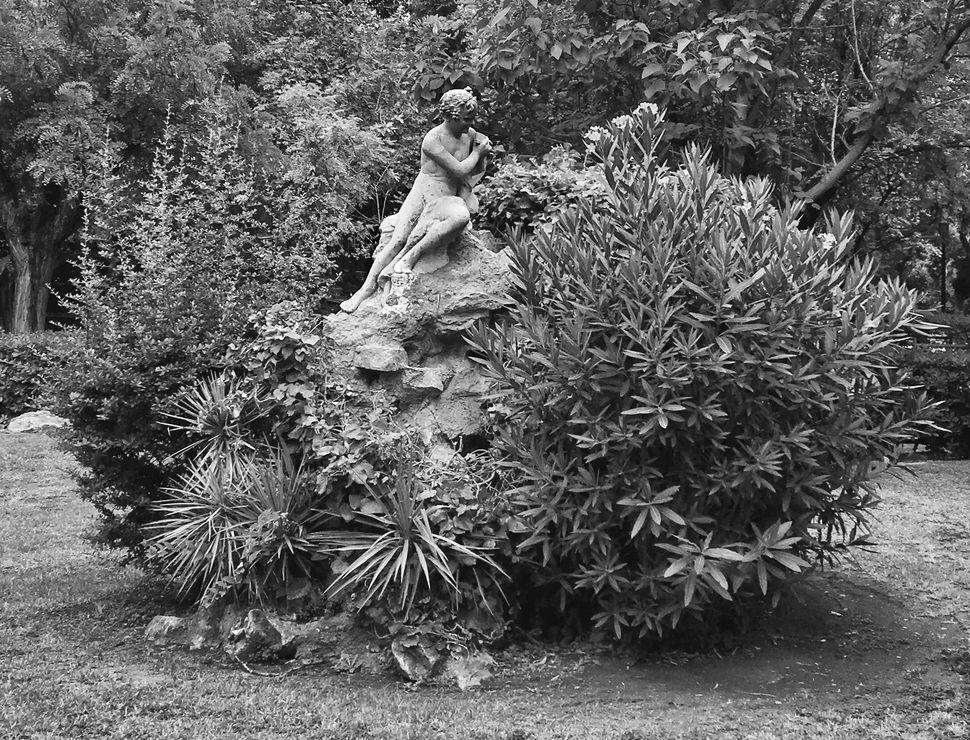 Γεώργιου Δημητριάδη του Αθηναίου,Παν, 1926-32, μάρμαρο, Ζάππειο.