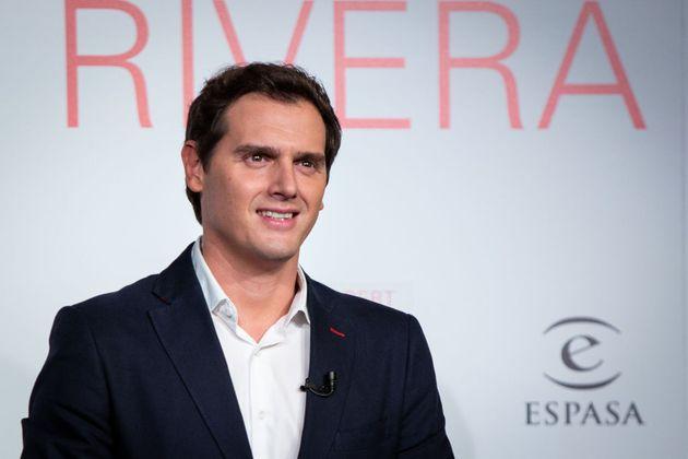 Albert Rivera, en la presentación de su libro 'Un ciudadano libre', el pasado 22 de septiembre, en