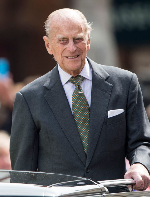 Prince Philip pictured during the Queen's 90th birthday