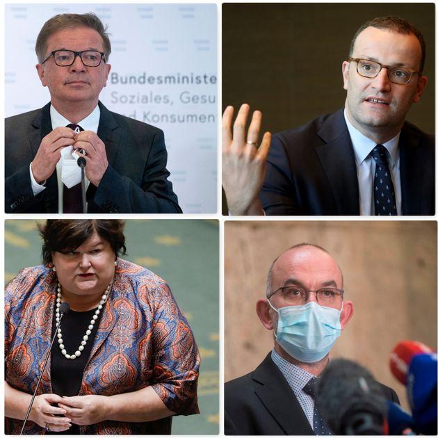 Minisitri della Salute di Austria, Germania, Belgio e Repubblica