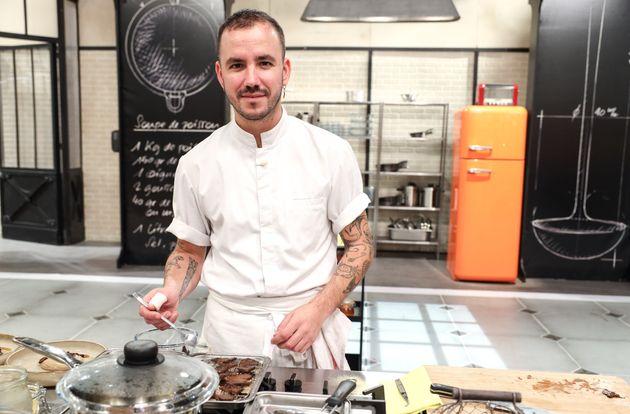 """Baptiste Trudel, le candidat éliminé de la compétition de """"Top Chef"""""""