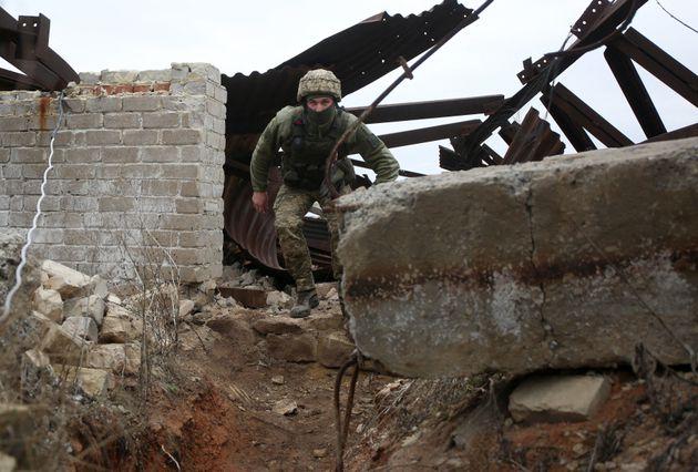 Ουκρανός στρατιώτης...
