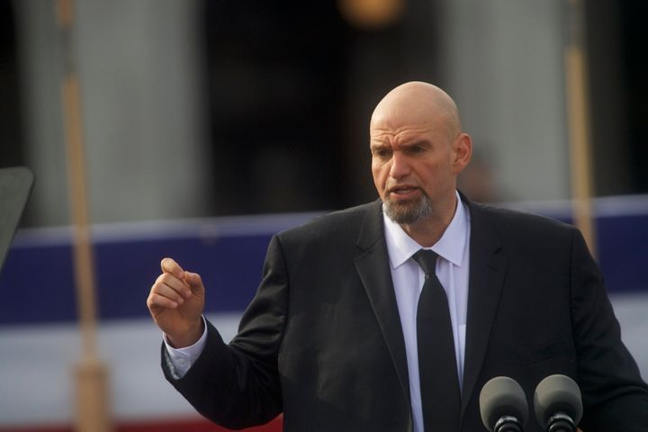 Pennsylvania Lt. Gov. John Fetterman is an early front-runner for the state's Democratic Senate nomination. A super PAC