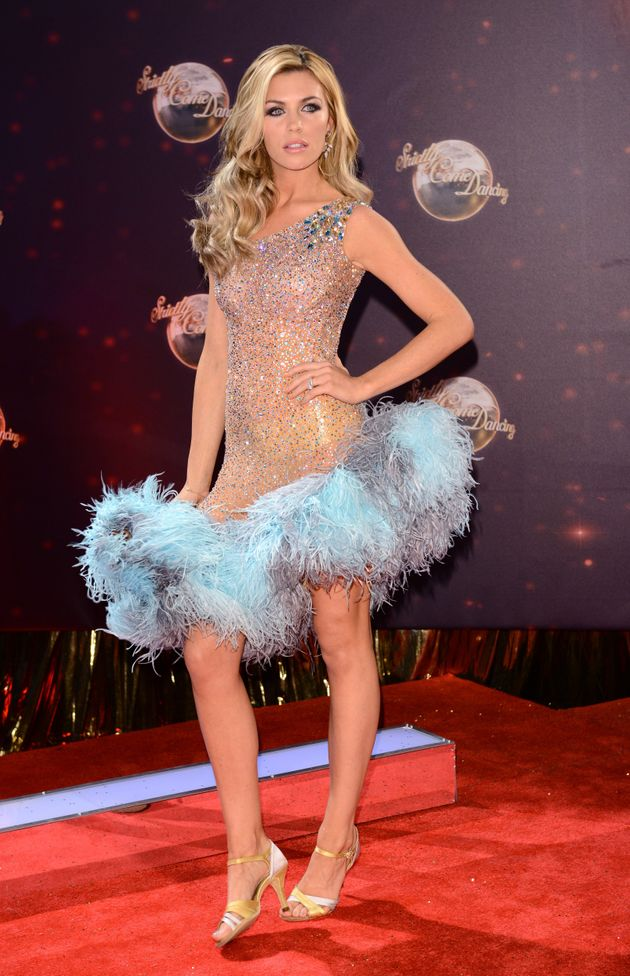 Abbey Clancy won Strictly Come Dancing in