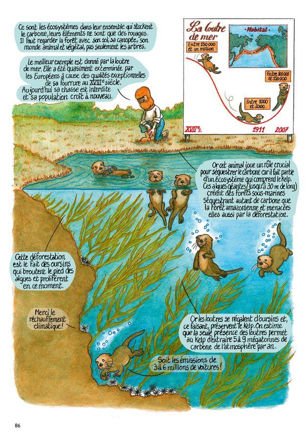 Urgence climatique: une bande dessinée pour