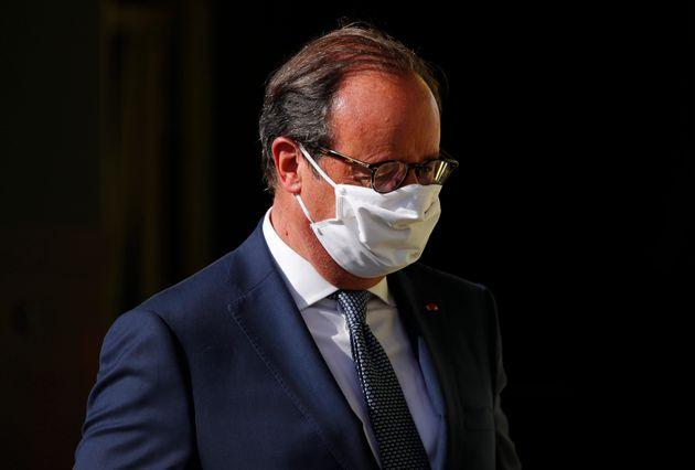 François Hollande le 12 septembre 2020 à