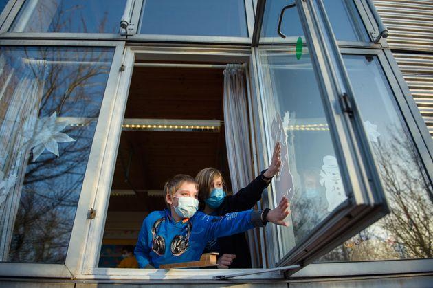 L'aération sera-t-elle la clé du déconfinement? (photo prise le 22 février...