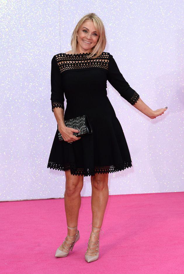 Helen Fielding attends the World premiere of Bridget Jones's Baby in 2016 in London