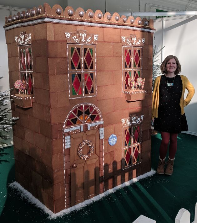 Her installation for the Ideal Home Show