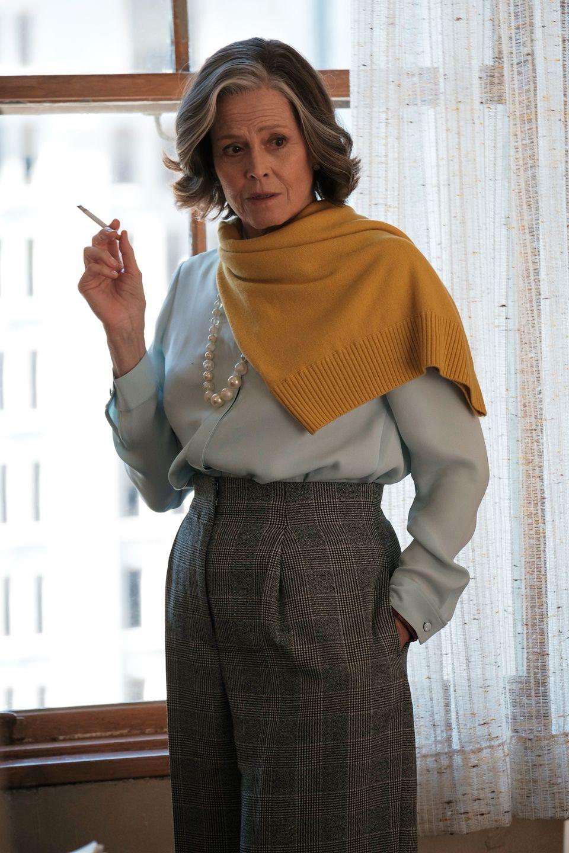 Sigourney Weaver in My New York