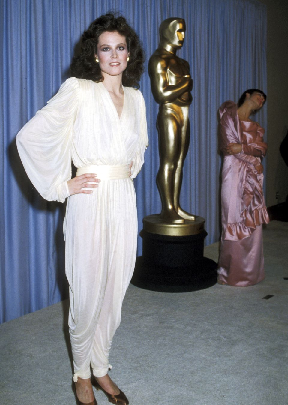 Sigourney Weaver at the Oscars in