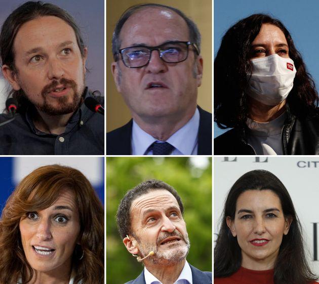 Candidatos a las elecciones del 4 de mayo en