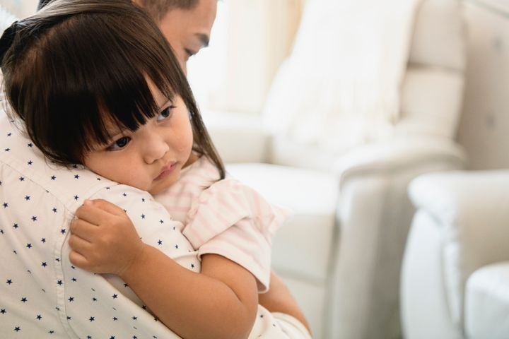 Small children need reassurance that they had nothing to do with this separation and that their parents will always love them.