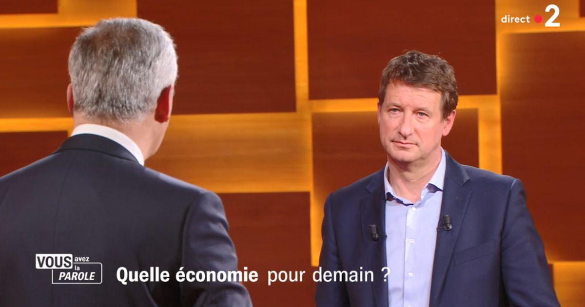 Sur France 2, Le Maire inflige à Jadot une leçon de débat politique