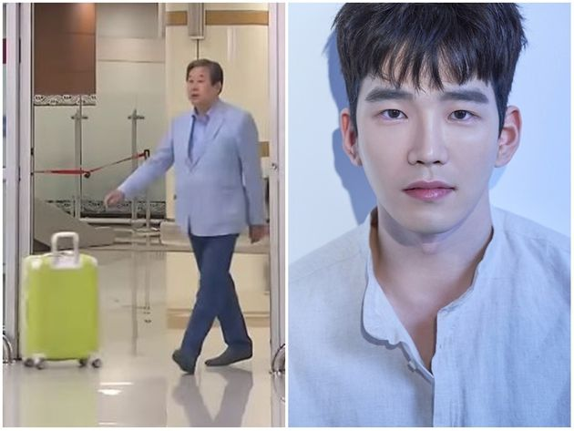 김무성 전 의원과 아들인 배우