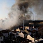 Le gigantesque incendie à Aubervilliers maîtrisé, retour à la normale dans les