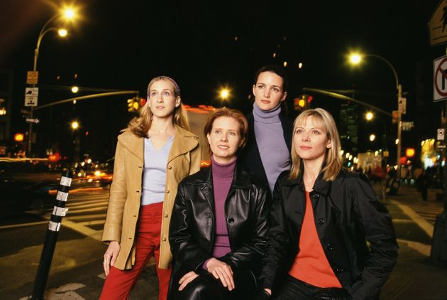 The original cast members of Sex And The City