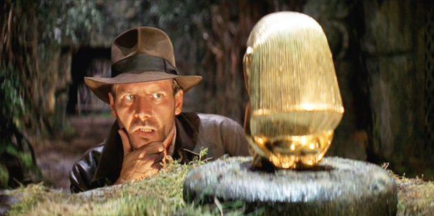 Harrison Ford dans le rôle d'Indiana Jones, dans le film de 1981
