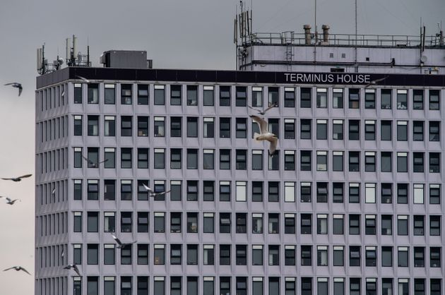 Terminus House, a disused office building now being used for social housing, has come under some criticism for its