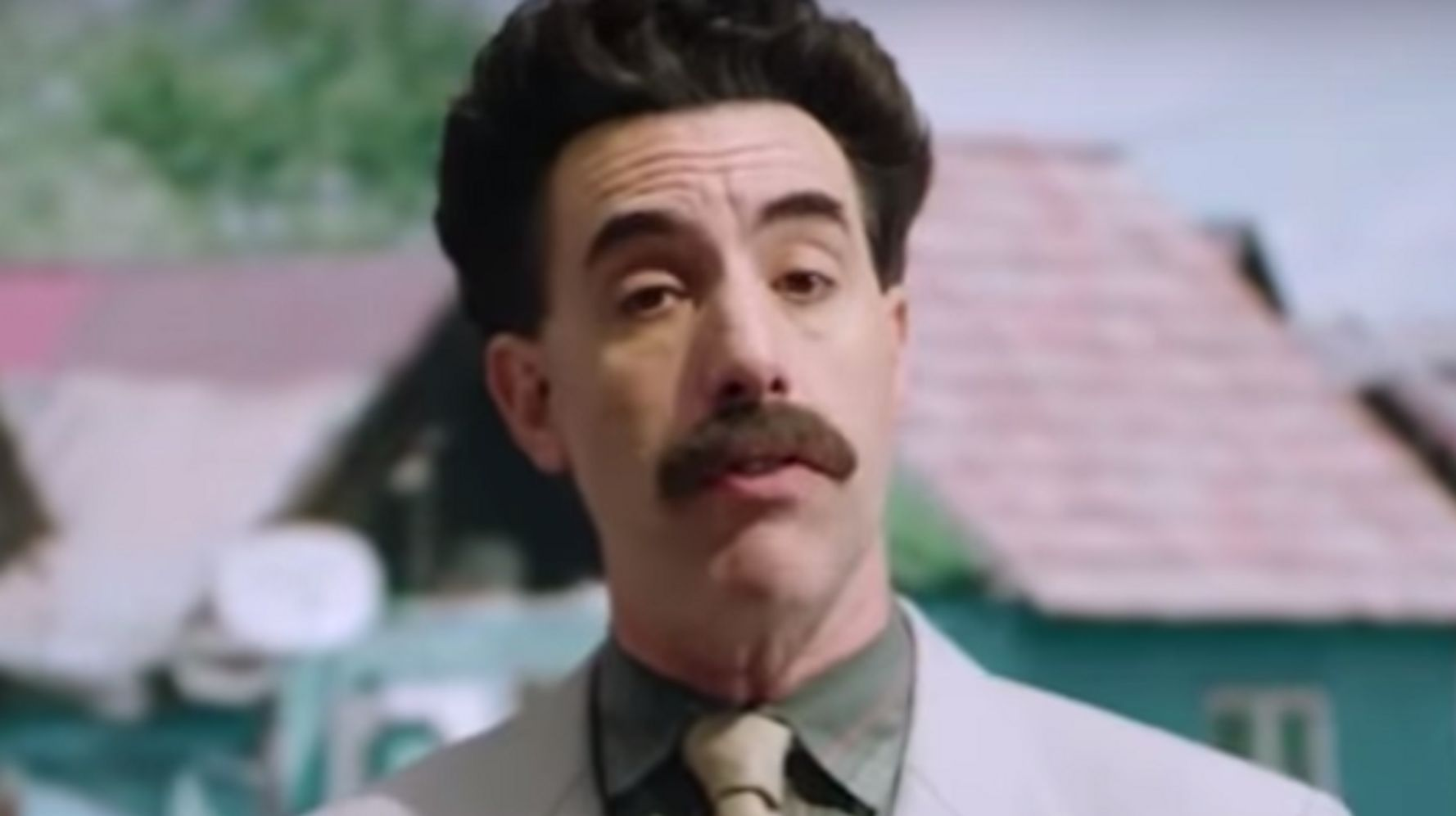Borat Trolls Donald Trump's Election Lies In Never-Before-Seen Footage Teaser