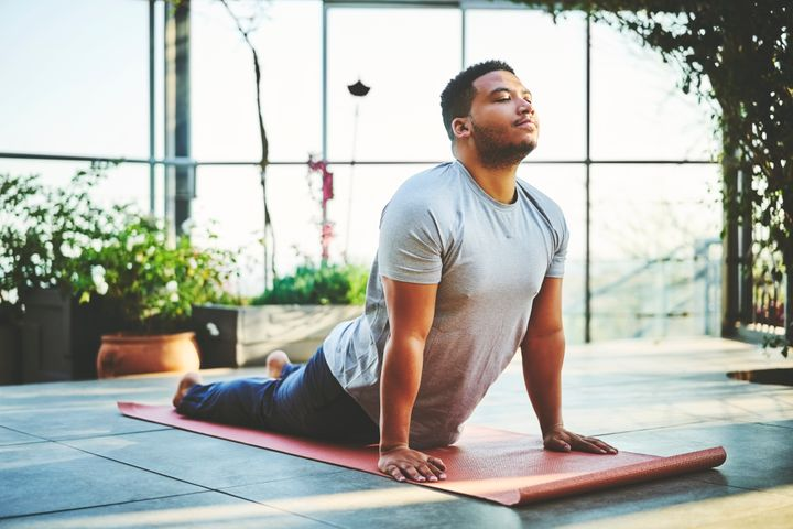 Experts recommend starting out with low-impact exercises and following a 50/30/20/10 rule for exertion.