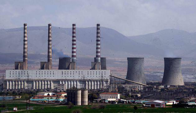 Φωτογραφία αρχείου από εργοστάσιο της ΔΕΗ στην Πτολεμαΐδα