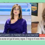 Margarita del Val le pide paso a Ana Rosa para hacer una petición: