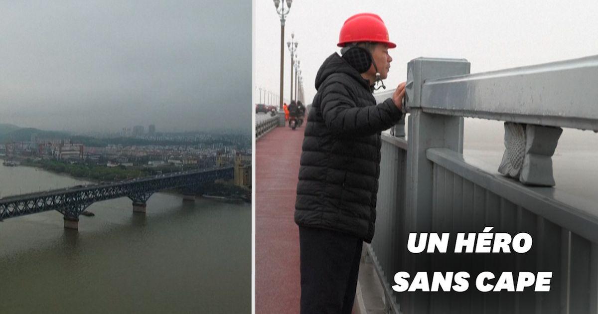 """En Chine, cet """"ange"""" a sauvé plus de 400 personnes du """"pont des suicidés"""""""