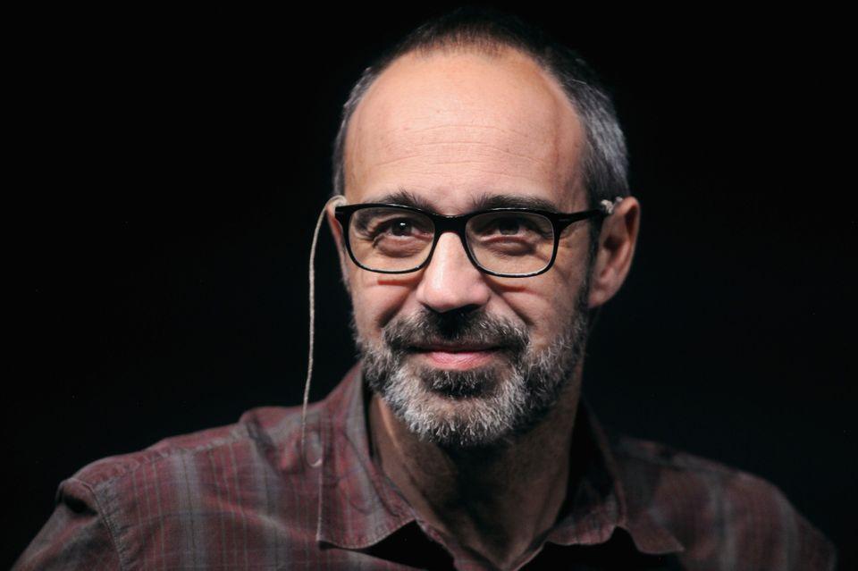 BOLOGNA, ITALY - JUNE 09: Italian author Niccolo' Ammaniti attends a public debate for RepIdee Festival...