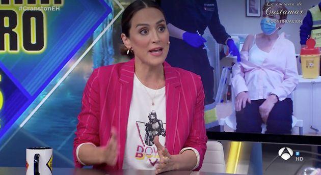 Tamara Falcó, en 'El Hormiguero' (Antena