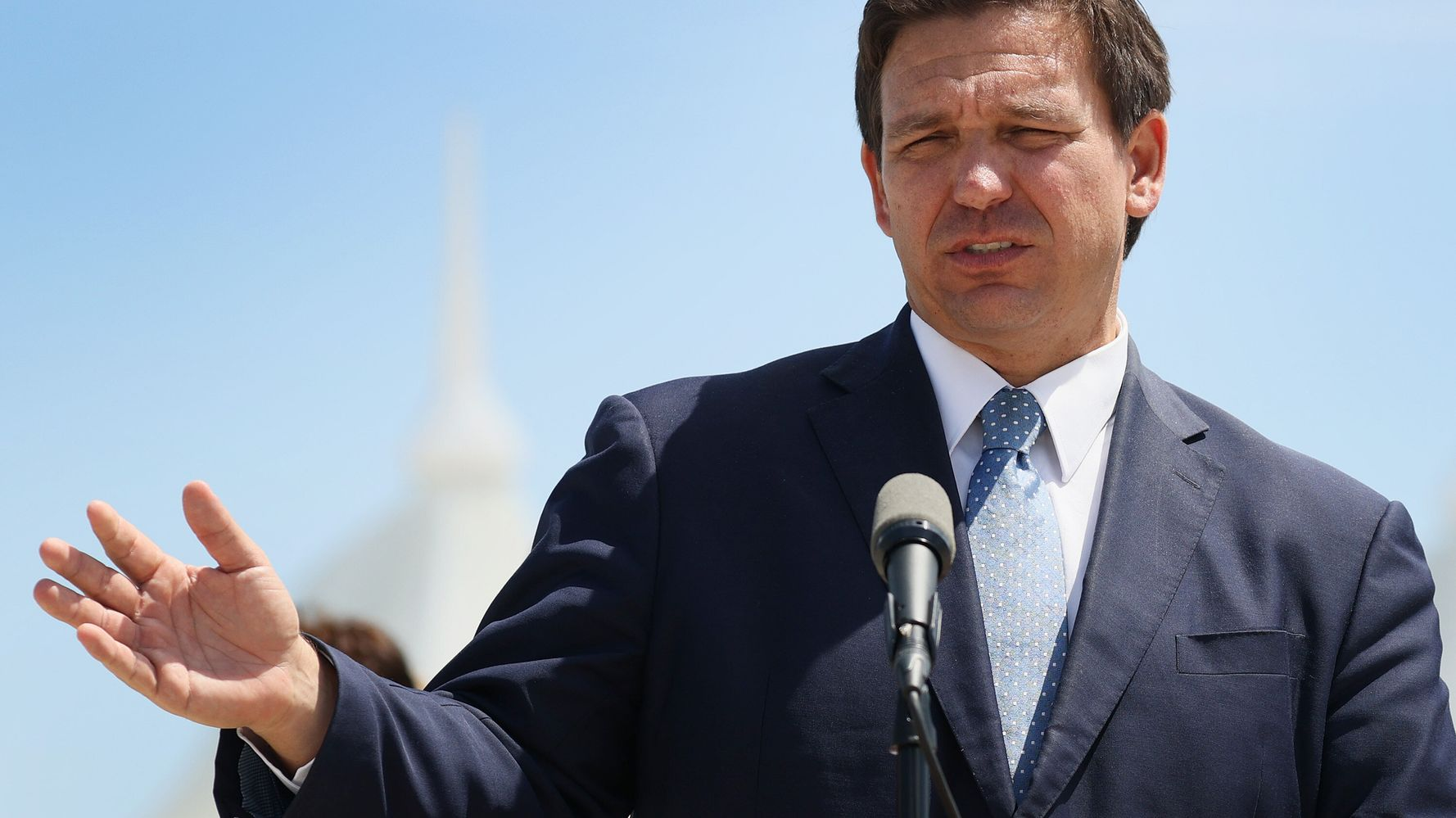 DeSantis Vaccine Slogan Is 'Seniors First' – But 'Rich, White Seniors First' Is What Happened