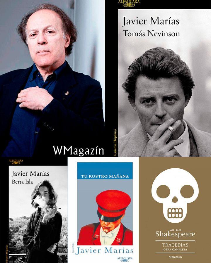 Los libros que inspiraron 'Tomás Nevinson', de Javier Marías.