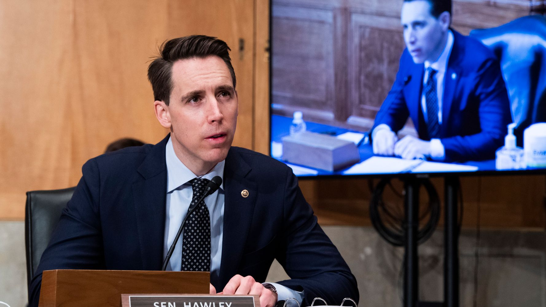 Josh Hawley Loves To Accuse Others Of Doing What He Actually Did