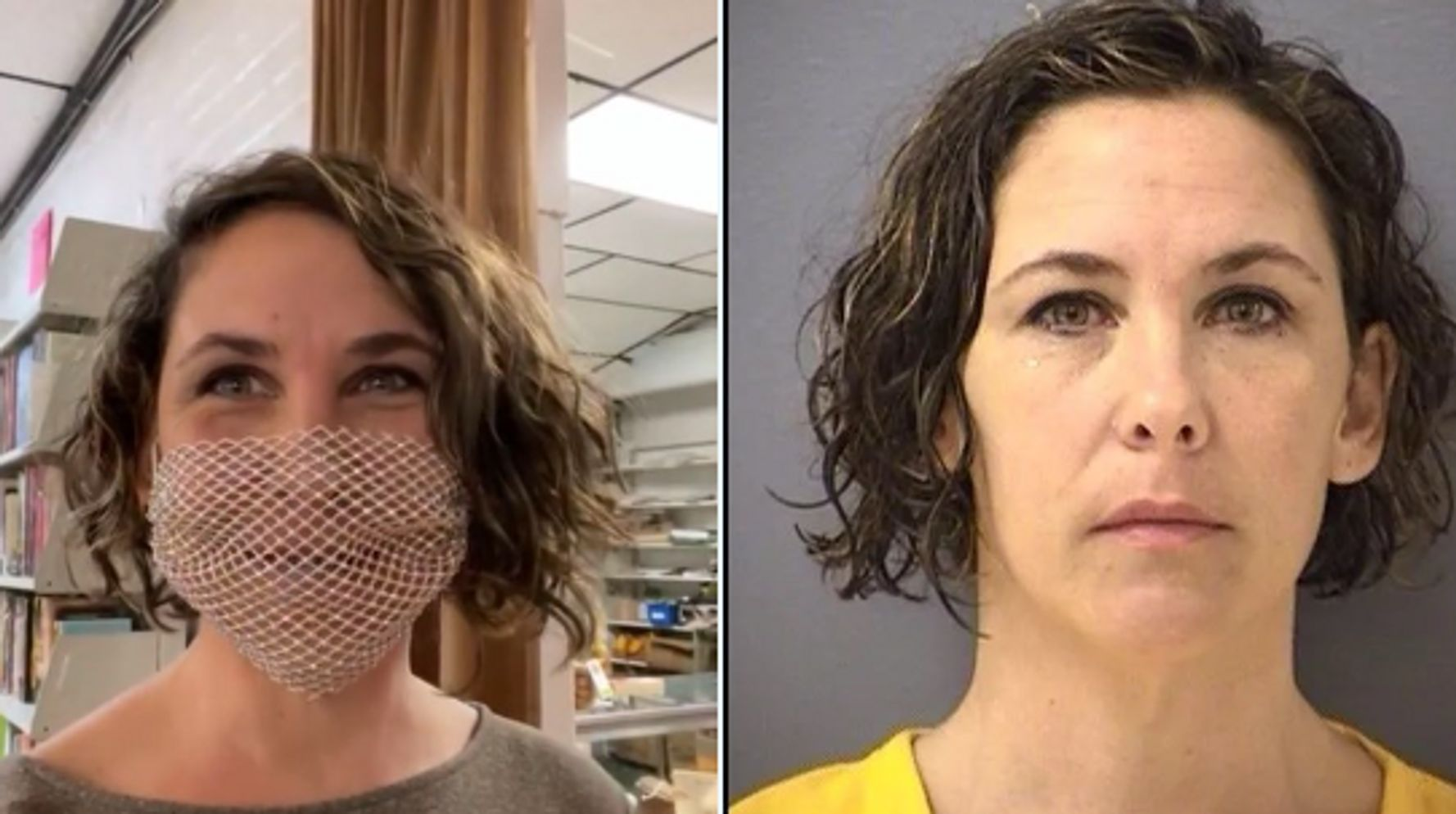'Bullhorn Lady' In Trouble With Judge After Defying Court With Mesh Mask