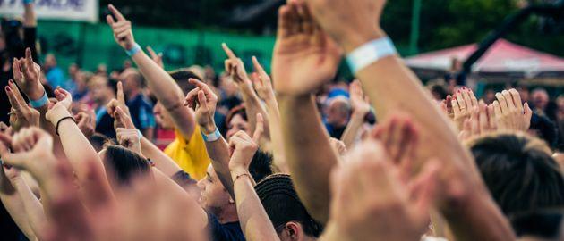 音楽フェスのイメージ画像