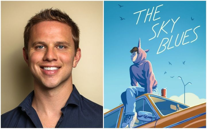 "Author Robbie Couch's debut novel, ""The Sky Blues,"" was released earlier this month."