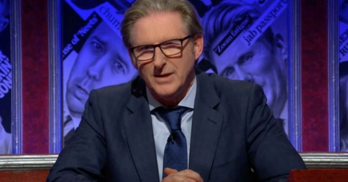 Adrian Dunbar Presenting Have I Got News For You Was Just As Much Of A Mind-Melt As Any Line Of Duty Episode