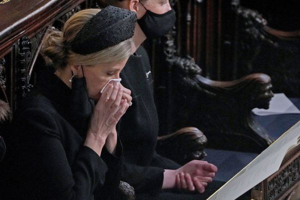 Sophie, Countess of Wessex, needs a tissue.