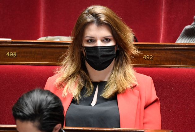 Marlène Schiappa, here at the National Assembly in Paris, March 30