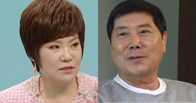 '전지적 참견시점'에 출연한 김연자와 홍상기