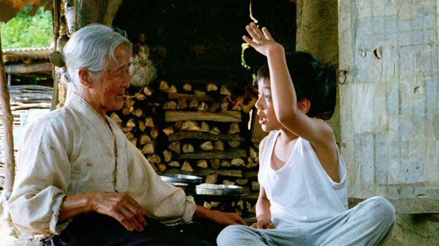 영화 '집으로' 스틸컷, 김을분 할머니와