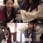 박서준, 서예지에게 철벽? 재조명되는 드라마 '화랑' 키스신 현장