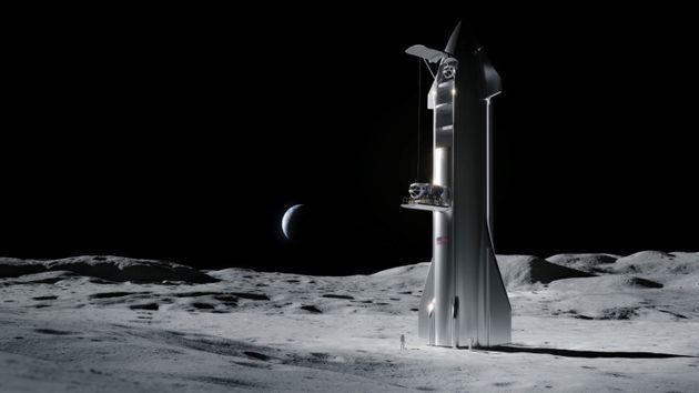 NASAの宇宙飛行士が月面に降り立つ手段を開発する権利、SpaceXが獲得 アポロ計画以来初めて