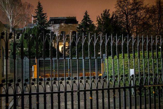 H πρεσβεία της Ρωσίας...