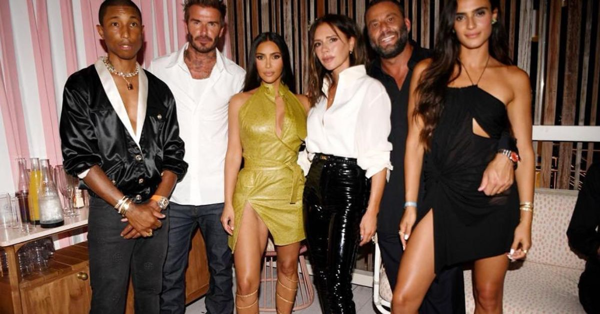 Victoria Beckham Celebrates Her Birthday In Style With Kim Kardashian And Husband David In Miami