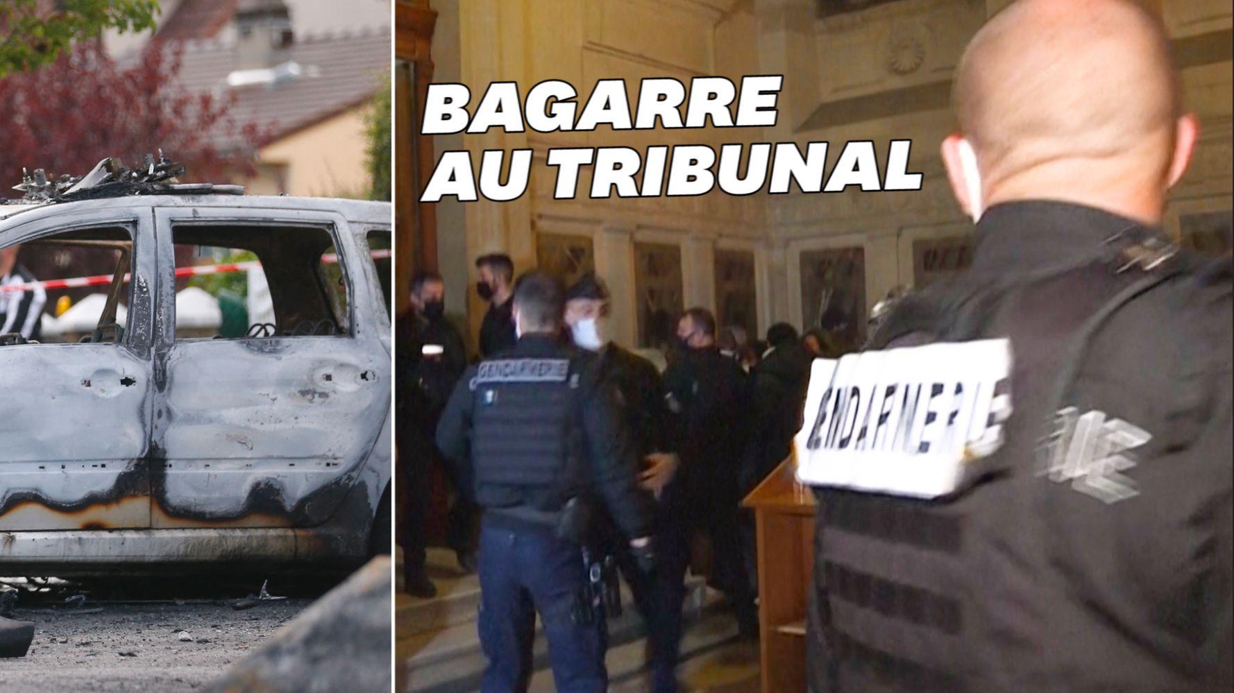 Policiers brûlés à Viry-Châtillon: des peines de 6 à 18 ans de prison et 8 acquittements