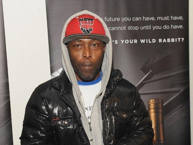 Le rappeur Black Rob en décembre 2017 lors d'une soirée à New