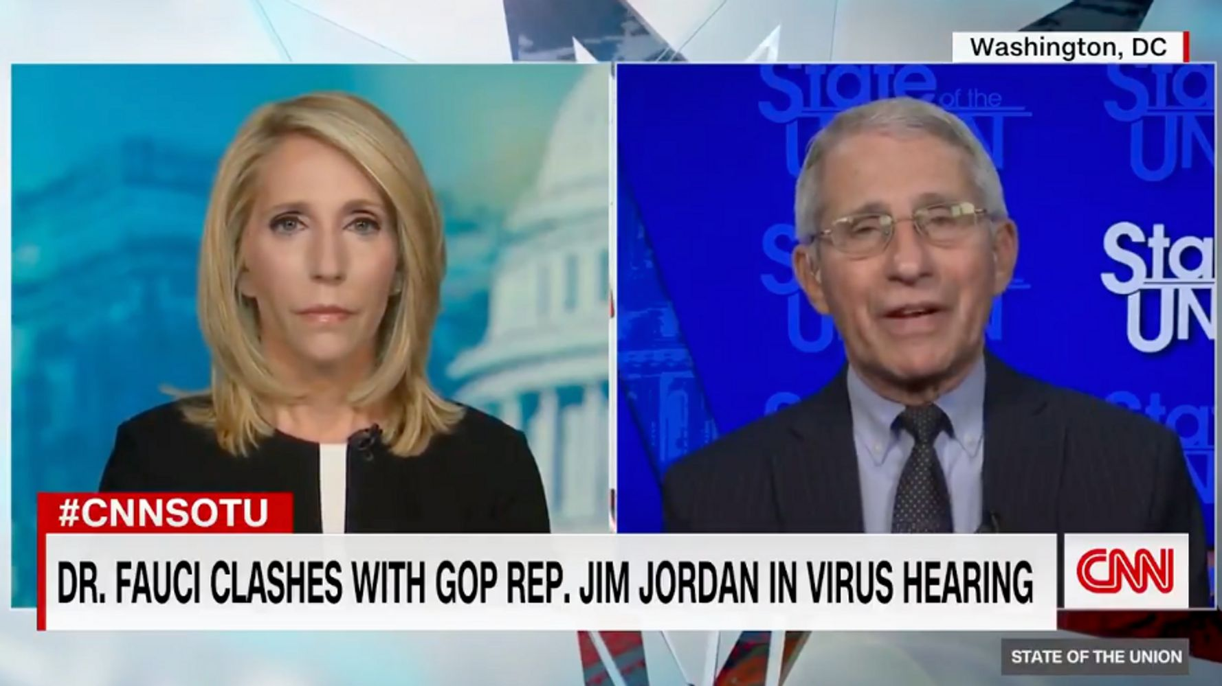 Anthony Fauci On Viral Exchange With Jim Jordan: 'This Has Nothing To Do With Liberties'